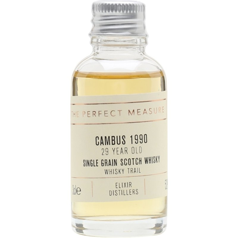 Cambus 1990 Sample / 29 Year Old / Whisky Trail Single Whisky